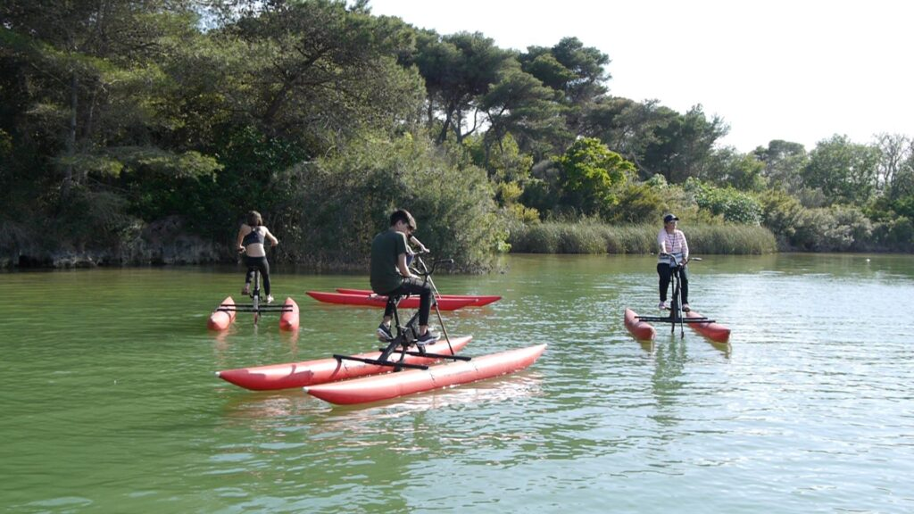 salento escursioni waterbike